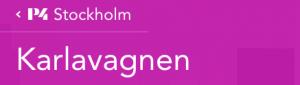 """""""Karlavagnen"""" med Peter Wahlbeck, Sveriges Radio"""
