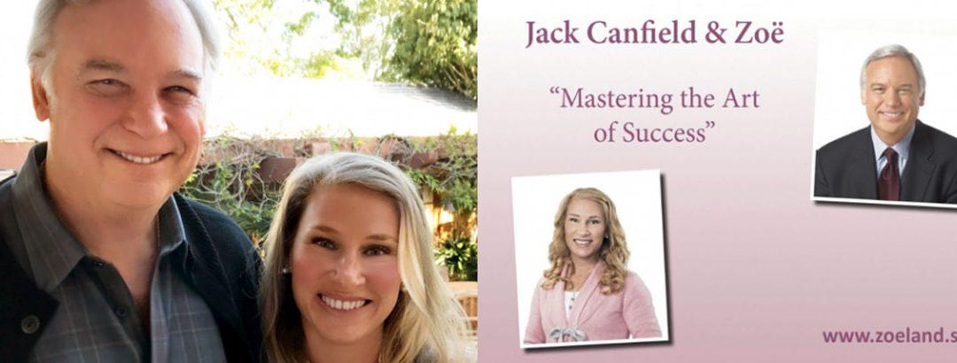 Zoë skriver bok med Jack Canfield