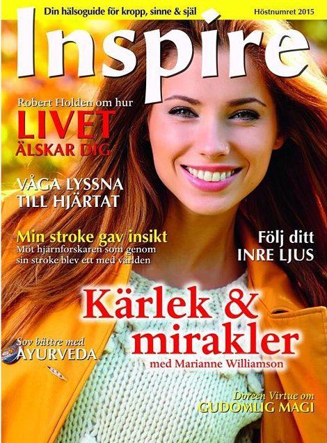 "Zoë's frågespalt ""Fråga Zoë"", Inspire tidningen, september 2015"