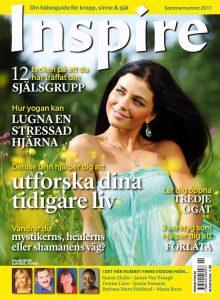 "Zoë's frågespalt ""Fråga Zoë"", Inspire tidningen, juli 2017"