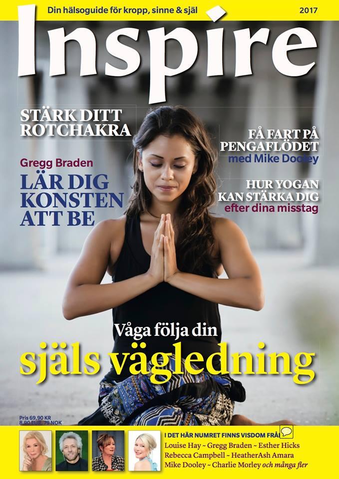 "Zoë's frågespalt ""Fråga Zoë"", Inspire tidningen, februari 2018"