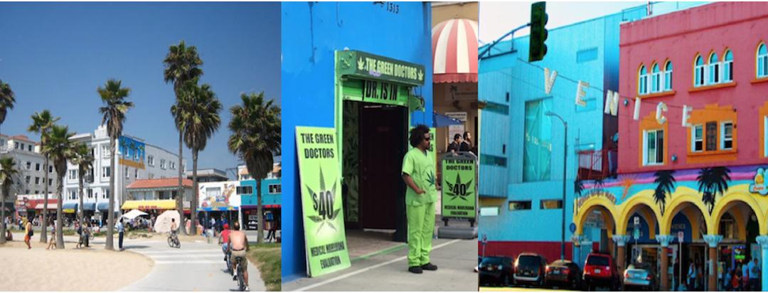 Gatuartister och Gröna doktorer i Venice