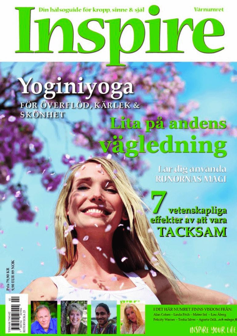 Zoë's krönika, Inspire tidningen, maj 2019