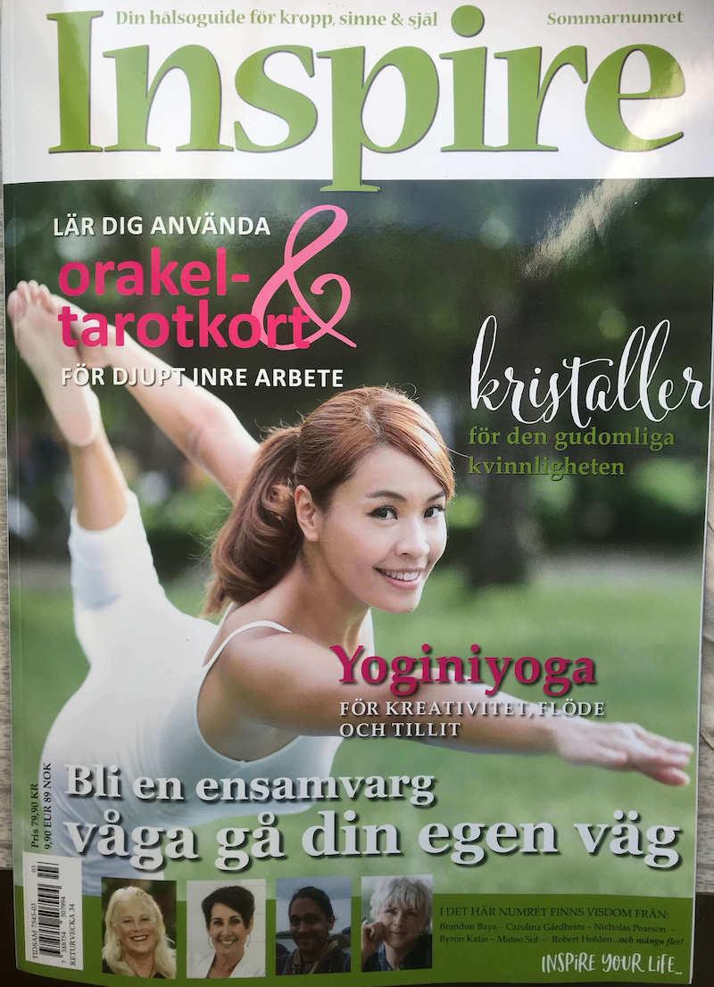 Zoë's krönika, Inspire tidningen, juli 2019