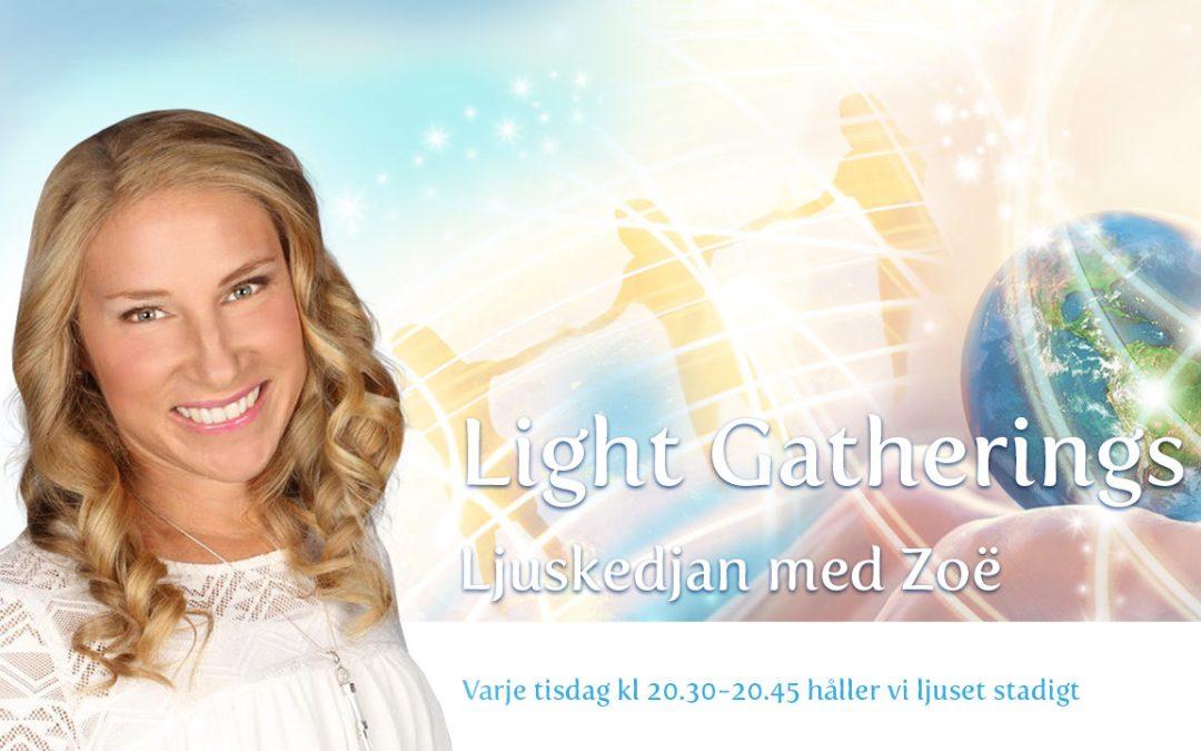 LIVE-sänd Ljusmeditation 24 mars